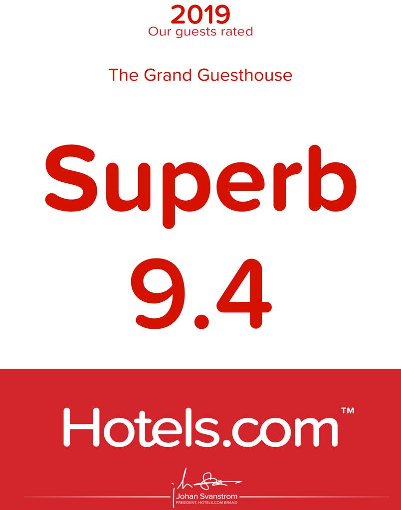 Hotels-9-4-rating-award